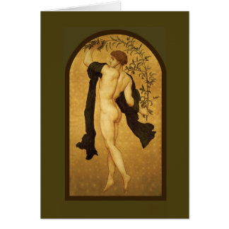 Cymbalists by Lord Frederic Leighton Card
