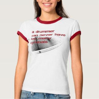 Cymbals- Female T-Shirt