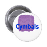 cymbals text blue buttons