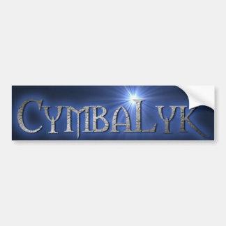 CymbaLyk Bumpersticker Bumper Sticker