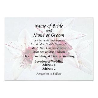 Cymbidium Baltic Dew Freckle Face Wedding Products Card
