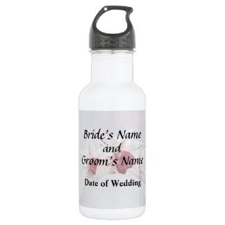 Cymbidium Baltic Dew Freckle Face Wedding Products Water Bottle