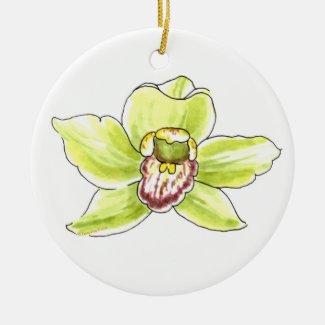 Cymbidium Blossom Ornament