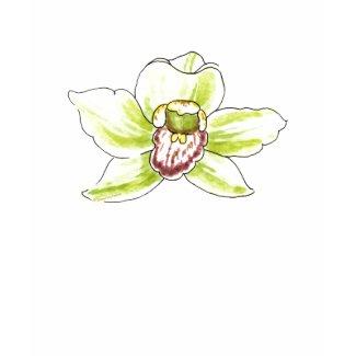 Cymbidium Blossom shirt