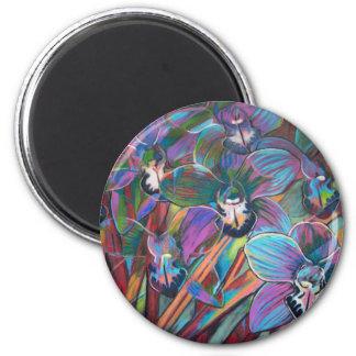 Cymbidium Carnival 2 Magnet