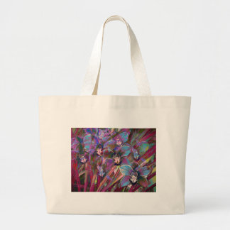 Cymbidium Orchid Carnival Large Tote Bag