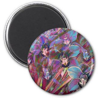 Cymbidium Orchid Carnival Magnet