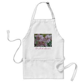 Cymbidium rosado, delantal del amante de la orquíd