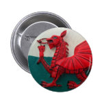Cymru Am Byth 2 Inch Round Button