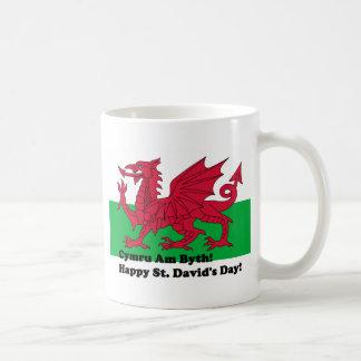 Cymru Am Byth - Happy St. David's Day Coffee Mug