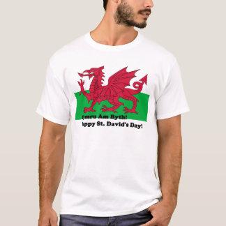 Cymru Am Byth - Happy St. David's Day T-Shirt