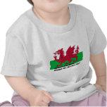 Cymru Byth - el día de St David feliz Camisetas