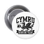 CYMRU Drinking Team Pinback Buttons