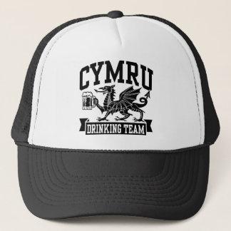 CYMRU Drinking Team Trucker Hat