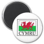 Cymru Imán Redondo 5 Cm