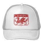 Cymru - País de Gales - vintage Gorro De Camionero