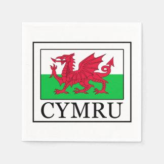 Cymru Paper Napkin