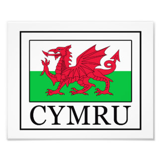 Cymru Photo Print