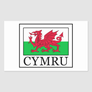 Cymru Rectangular Sticker