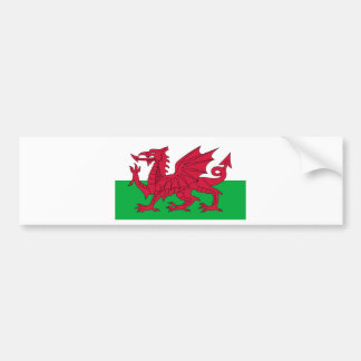 Cymru, the Celtic Nation of Wales Bumper Sticker