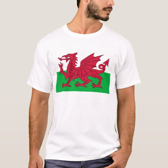 Cymru, the Celtic Nation of Wales T-Shirt