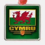 Cymru (Wales) Christmas Ornaments