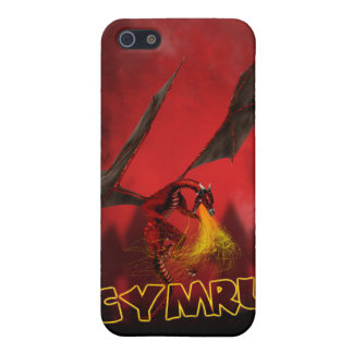 Cymru Welsh i Wirth Red Dragon Cases For iPhone 5