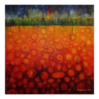 Cyndi's Garden - Canvas Print