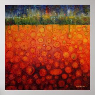 Cyndi's Garden Framed Print