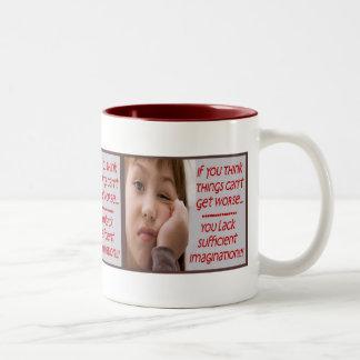Cynical Girl Mug