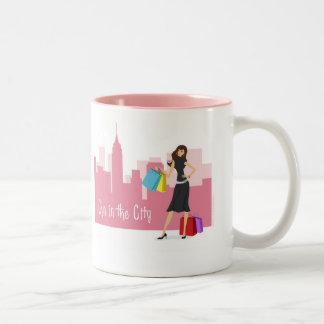 Cyn's Sipper Two-Tone Coffee Mug