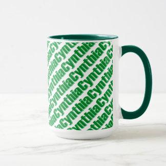 Cynthia 15 oz Ringer Mug