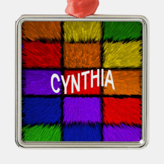 CYNTHIA METAL ORNAMENT