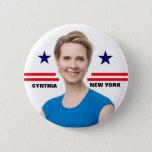 Cynthia Nixon for Governor Button