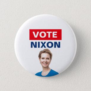 Cynthia Nixon for Governor Pinback Button