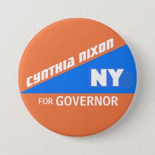 Cynthia Nixon for NY Governor Pinback Button