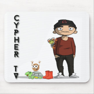 Cypher_tv Mousepad