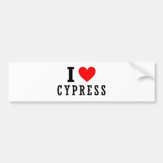 Cypress, Alabama City Design Bumper Stickers
