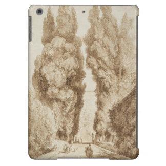 Cypress Avenue at Villa d Este Tivoli by Fragonard iPad Air Case