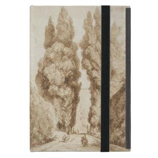 Cypress Avenue at Villa d Este Tivoli by Fragonard iPad Mini Covers