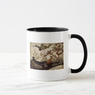 Cypress by Kano Eitoku, Muromanchi period Mug