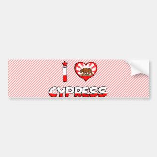 Cypress, CA Bumper Sticker