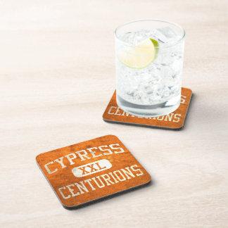 Cypress Centurions Athletics Drink Coaster