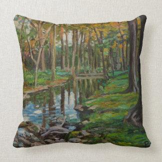 Cypress Creek Throw Pillow