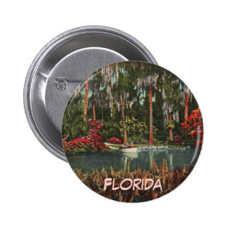 Cypress cultiva un huerto botón de la Florida Pin Redondo De 2 Pulgadas