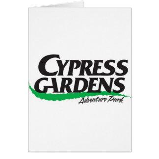 Cypress Gardens Adventure Park (2004-2008) Card