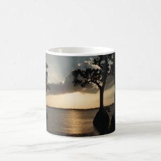 Cypress Gardens at Sunset Coffee Mug