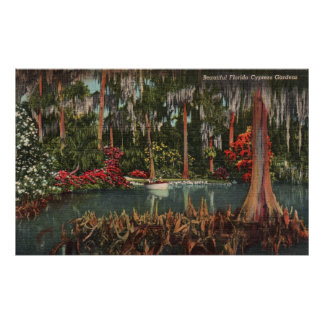 Cypress Gardens Florida Poster