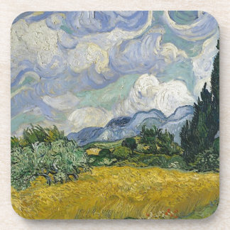 Cypress Grove and Wheat Field Beverage Coaster