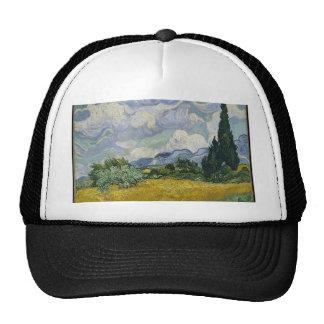 Cypress Grove and Wheat Field Trucker Hat